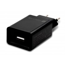 USB-A Wall Charger 5V 2.4A for Smartphone or Tablet - Techly - IPW-USB-24BK