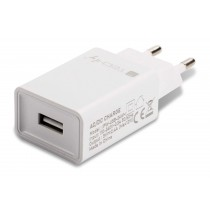 USB-A Wall Charger 5V 2.4A for Smartphone or Tablet - Techly - IPW-USB-24WH
