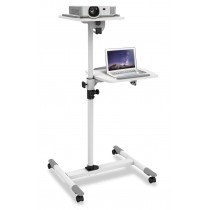 Universal Trolley for Notebook / Projector, White - Techly - ICA-TB TPM-6