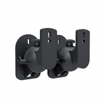 Pair Speakers Wall Brackets Universal Adjustable - Techly - ICA-SP SS28