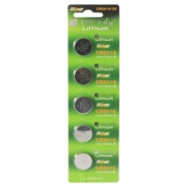 Button Lithium Battery CR2016 (set of 5 pcs) - Techly - IBT-KCR2016