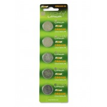 Lithium Button Batteries (set 5 pcs) CR2025 - Techly - IBT-KCR2025