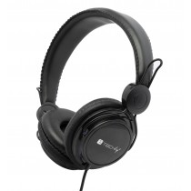 Stereo Headphone with Padded Earphones and Headband - Techly - ICC-HS736TY