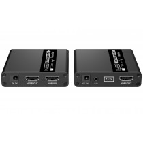 HDMI Extender 1080p on Cat.6/6A/7 Cable up to 70m with EDID - Techly - IDATA EXT-E223