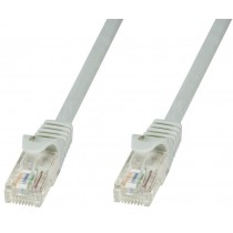 Network Patch Cable in CCA Cat.5E UTP 10m Grey - Techly Professional - ICOC CCA5U-100T