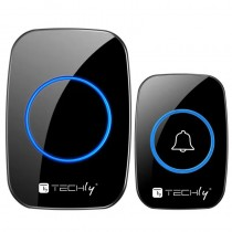 Wireless Doorbell Kit up to 300m with Remote Control - Techly - I-BELL-RING04