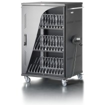 Ventilated Cart Charging Station 36 Notebook or Smartphone Black - Techly Professional - I-CABINET-36D12ATYV