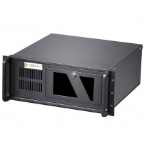 Industrial 4U Rackmount Computer Chassis 499mm - Techly - I-CASE MP-P4HX-BLK2