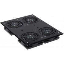 "4 Fans Ceiling Group for 19"" NetRack - Techly Professional - I-CASE FAN-4FPBK"