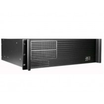 "Chassis Industrial Rack 19""/3U Desktop Ultra Compact Black - Techly - I-CASE MP-P4HX-BLK4"