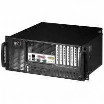 "Chassis Industrial Rack 19""/Desktop 4U Ultra Compact Black - Techly - I-CASE MP-P4HX-BLK6"