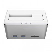 USB3.0 Multifunctional Docking Station - Techly Np - I-CASE SATA-TST54H