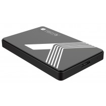 "External USB3.0 Box for SATA 2.5"" HDD/SSD Black - Techly - I-CASE USB3-SL25TY"