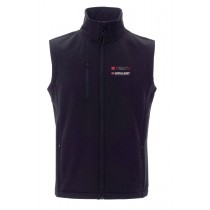 Black Sleeveless for men size M with Techly Professional and Intellinet logos - Techly - I-NET-SMAM