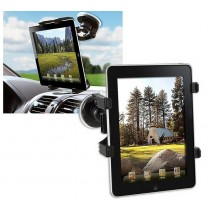"Universal Car Sucker Stand for Tablet 7-10.1"" - Techly - I-TABLET-VENT"