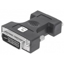 Analog Video Adapter DVI-I Male / VGA Female - Techly - IADAP DVI-8700T