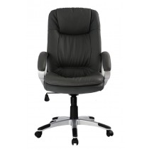 Padded Directional Armchair with Armrests, Black - Techly - ICA-CT 028BK