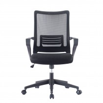 Office Chair with Medium Mesh Backrest Black color - Techly - ICA-CT MCB022