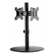 "Desktop monitor arm for two 17"" - 32"" monitors - Techly - ICA-LCD 402"