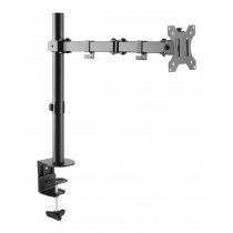 "Desk monitor arm for monitor 13-32"" - Techly - ICA-LCD 503BK"