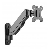 """Wall support with gas spring for TV 17-32"""" black - Techly - ICA-LCD G111"""