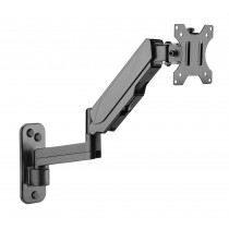 Wall Mounted Gas Spring Monitor Arm - Techly - ICA-LCD G112