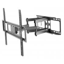 "Full-motion TV Wall Mount for 37""-70"" LED, LCD Flat Panel TVs - Techly - ICA-PLB 344LTY"
