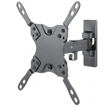 "Full Motion LED-LCD TV 13-42"" Wall Mount 2 Joints Black - Techly - ICA-PLB 400STY"