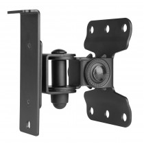 Adjustable Wall mount for Sonos Play 1 black - Techly Np - ICA-SP SSWL01