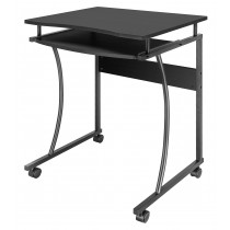 Compact Desk with Slide-out Keyboard Tray - Techly - ICA-TB 131B