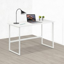 White Multifunctional Computer Desk - Techly - ICA-TB 3545W
