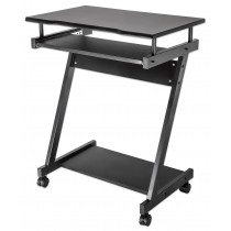 Compact Computer Desk with Slide-out Keyboard Tray - Techly - ICA-TB 935B