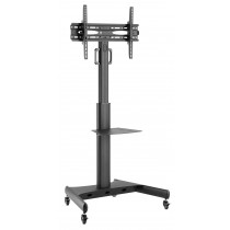 "Trolley Floor Support with Shelf LCD TV/LED 32-65""  - Techly - ICA-TR35"