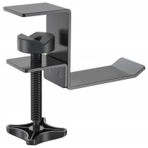 Metal Headphone Hanger with Adjustable Clamp - Techly - ICC SH-HANG