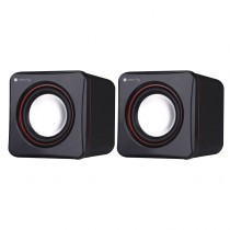 Multimedia Speaker Set for Notebook and PC USB 2.0 and 3.5 mm Jack - Techly - ICC SP-320ETY