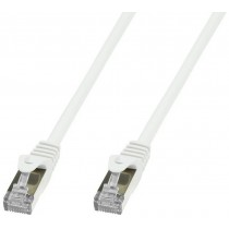 Copper Patch Network Cable Cat. 6A SFTP LSZH 10 m White - Techly Professional - ICOC LS6A-100-WHT