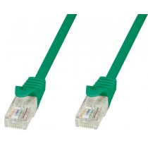 Copper Patch Cable Cat.6 UTP 5m Green - Techly Professional - ICOC U6-6U-050-GREET