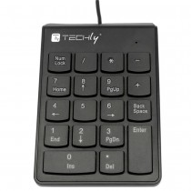 Mini Numeric Keypad with USB Cable and 18 Keys - Techly - IDATA KP-BLKTY