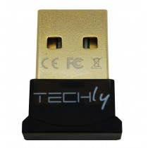 USB Bluetooth 4.0 Dongle Class 1 + EDR adapter - Techly - IDATA USB-BLT4TY