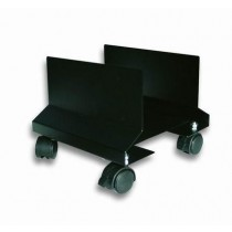 CPU Steel Holder with Wheels, Black - Techly - ICA-CS 34