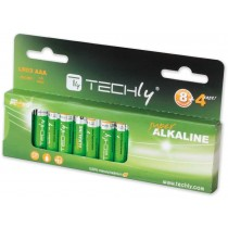 Blister 12 Batteries High Power Mini Stilo AAA Alkaline LR03 1.5V-IBT-KAL-LR03-B12T-Techly
