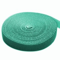 Velcro Roll Cable Management Length 4m Width 16mm Green - Techly - ISWT-ROLL-164GREETY