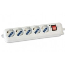 Power Strip 5 Italian / Schuko 3m Cable - Techly - IUPS-PCP-LC3
