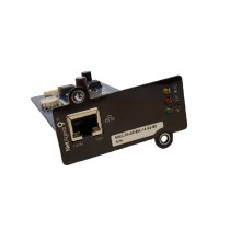 Internal Network Card 1 SNMP Lan port for UPS - Techly Professional - IUPS-SNMP-807