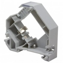 Grounded Plastic Expandable Keystone Adapter for DIN Rail - Techly Professional - IWP-MD KEY-RAILS