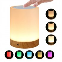 USB Smart Touch Lamp 5 Selectable Colors Intensity Adjustment - Techly - I-LED TOUCH