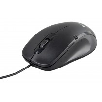 USB Optical Mouse 1000dpi Black - Techly - IM 902-UBK