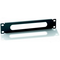 "Fairlead panel 10"" 1U Black - Techly Professional - I-CASE M10-CDK2"
