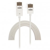 3m High Speed HDMI Cable with Ethernet Ultra Slim-ICOC HDMI-SL-030W-Techly