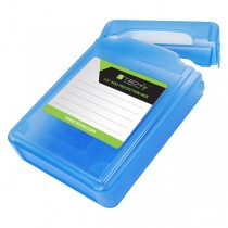 "Box Protection for 1 HDD 3.5"" Transparent Blue - Techly - ICA-HD 35B"